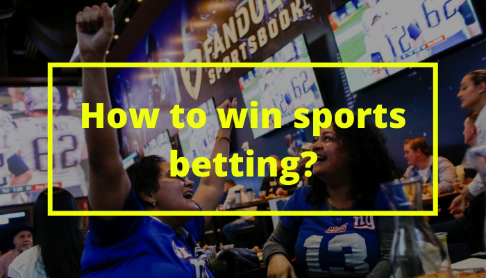 how to win sports betting